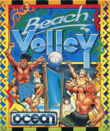 Amiga Beach Volley box artwork