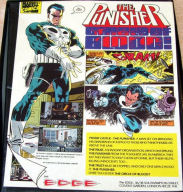 The Punisher (Amiga) box