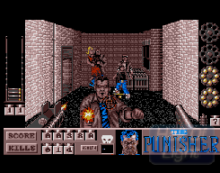 The Punisher (Amiga) ingame
