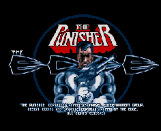 The Punisher (Amiga) splash screen