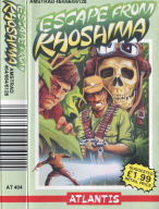 Amstrad Escape From Khoshima inlay