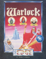 Warlock (Amstrad) inlay