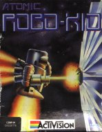 C64 Atomic Robo-Kid inlay