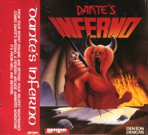 C64 Dante's Inferno inlay
