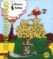 C64 Grog's Revenge inlay
