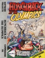 C64 Hunchback At The Olympics inlay