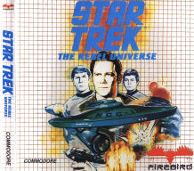 C64 Star Trek - The Rebel Universe inlay