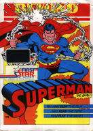 Front of C64 Superman inlay