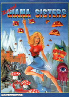 C64 The Great Gianna Sisters alternate inlay