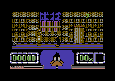 Daffy Duck C64 screenshots