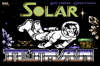 C64 Solar Jetman screenshot 1