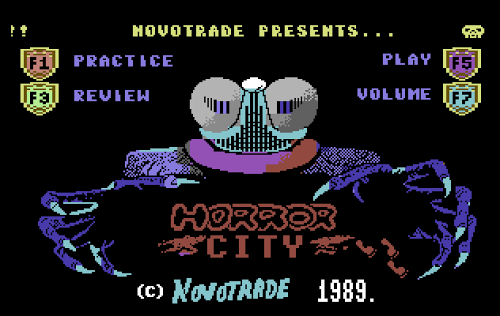 Horror City in game screen