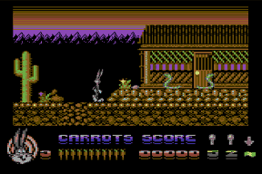 Bugs Bunny C64 screenshots