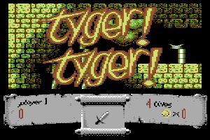 Tyger! Tyger! C64 screenshots