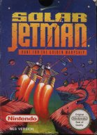 NES Solar Jetman inlay
