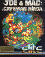 Joe & Mac - Caveman Ninja box art