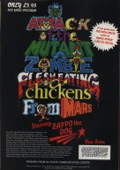 Attack Of The Mutant Zombie Flesh Eating Chickens From Mars advert