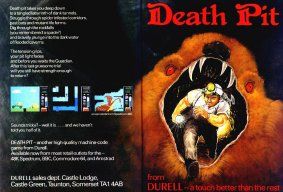 Death Pit advert
