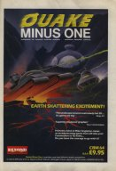 Quake Minus One advert