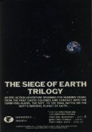 The Siege Of Earth Trilogy advert