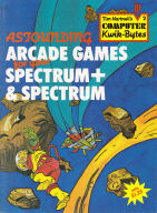 Astounding Arcade Games for your Spectrum+ & Spectrum cover