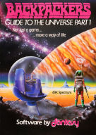 Backpackers Guide To The Universe artwork