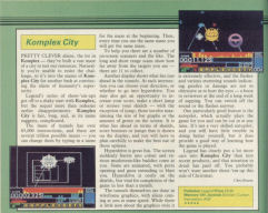 Komplex City Sinclair User review