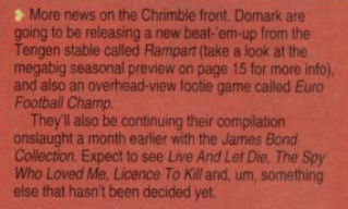 Rampart / Euro Football Champ note