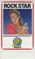 Rock Star Goes Bizarre game card