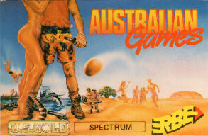 Australian Games Erbe inlay #2
