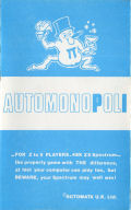 Automonopoli inlay