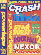 Crash Aug 1991 inlay