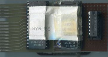 Gyruss Prototype Cartridge