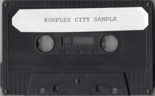 Komplex City sample cassette