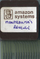 Montezuma's Revenge Prototype Cartridge