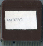 Qbert Prototype Cartridge