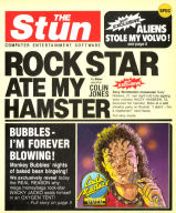 Rock Star Ate My Hamster inlay