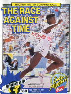 The Race Against Time Carl Lewis inlay