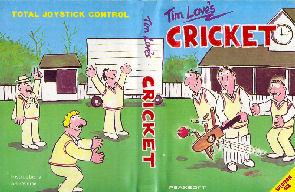 Tim Loves Cricket inlay