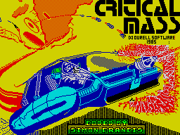 Critical Mass loading screen