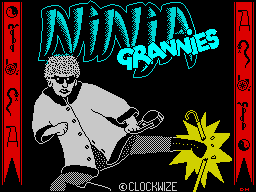 Ninja Grannies loading screen