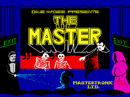 The Master (Mastertronic) loading screen
