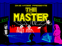 The Master (Software Projects) loading screen