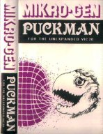 Vic-20 Puckman inlay