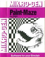 ZX81 Paint-Maze inlay
